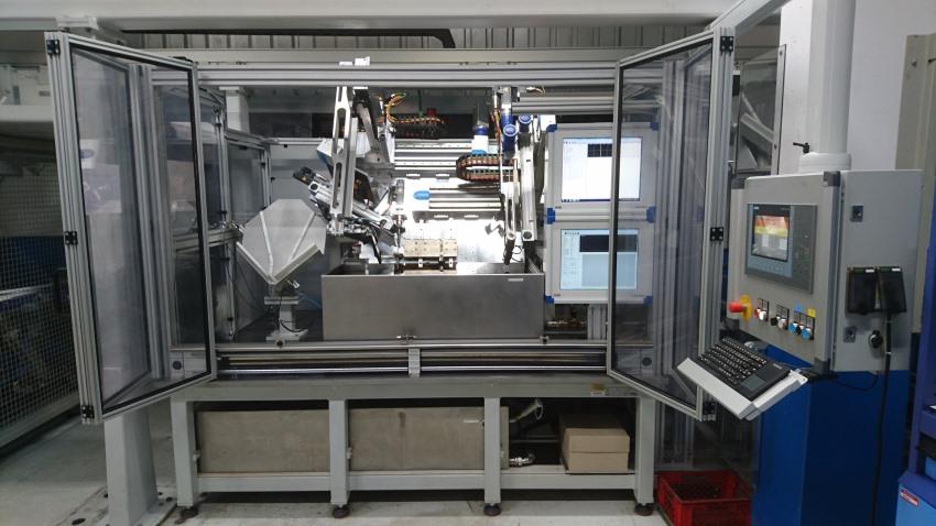 Prüfmaschine für Ringe - Prüftechnik